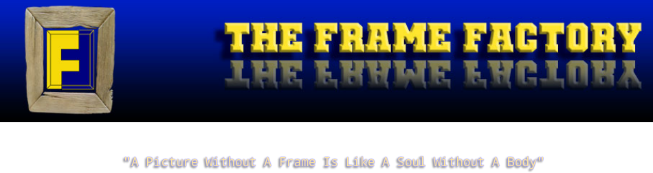 THE FRAME FACTORY: picture framing shop Streatham and Reigate